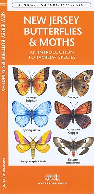 New Jersey Butterflies & Moths By Kavanaugh, James/ Leung, Raymond (NRT)